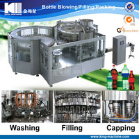 Automatic Carbonated beverage Processing Line / Plant