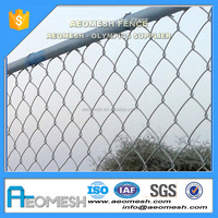 Airstrip galvanized barbed wire/galvanized chain link fence/galvanized fence posts