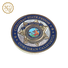 Free Design Customized Soft Imitation Enamel Challenge Coin