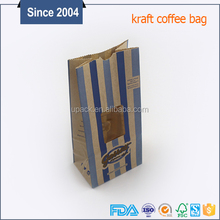 China paper bag SOS square bottom paper green tea packing bag