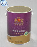 5L Emulsion liquid paint for storage mini tinplate can/pail