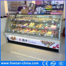 cake display showcase, cake refrigerator, cake chiller instant freezer