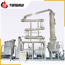 DDR waste engine oil recycling machine/waste motor oil pyrolysis distillation plant