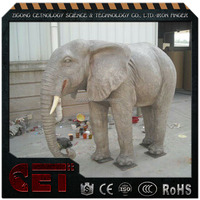 fiberglass animal statue giant elephant sculpture Antique Imitation animal
