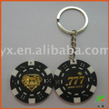 poker chips keychain