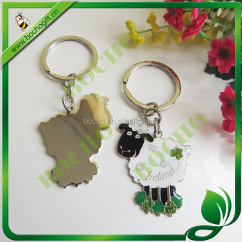 Ireland black sheep metal key holder