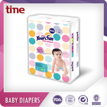 SAP Paper Disposable Sleepy Baby Diaper Supplier With Leak Guard
