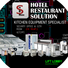 Top Series Chinese Hotel/Restaurant Kitchen Equipment For Restaurant With Price (All Types Project)