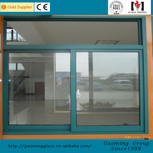 Thermal Break Aluminum Frame sliding colored window glass types in india