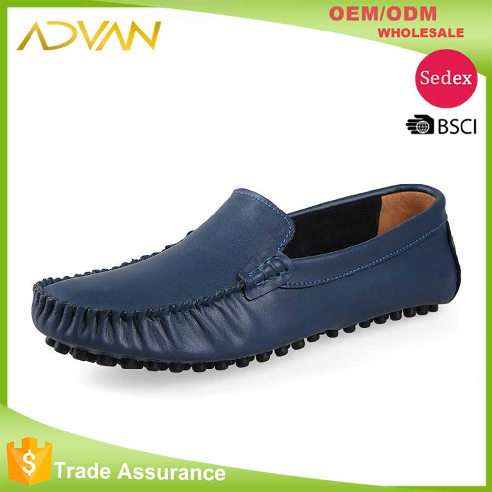Genuine Leather Soft Driving Shoes Man
