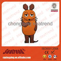 Alibaba China Trade Assurance Convenient High Remanence Strong Absorption Plush Animal Fridge Magnet