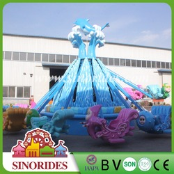 Family fun centers sea theme park custom ride design OEM attractions