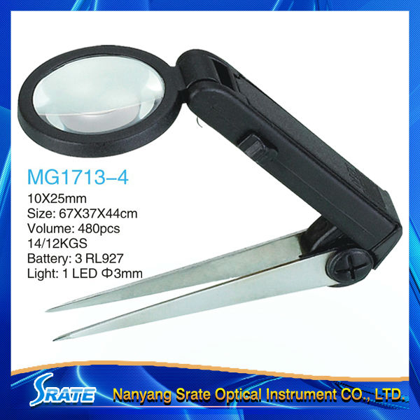 Magnifier Tweezers MG1713-4