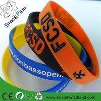 100% high quality cheap customs silicone bracelets Paypal accepted