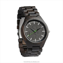 Wholesale cheap eco-friendly natural wood vogue wrist waterproof wood watch