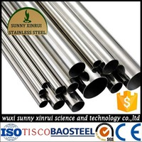 astm a312 tp316l seamless food grade stainless steel pipe