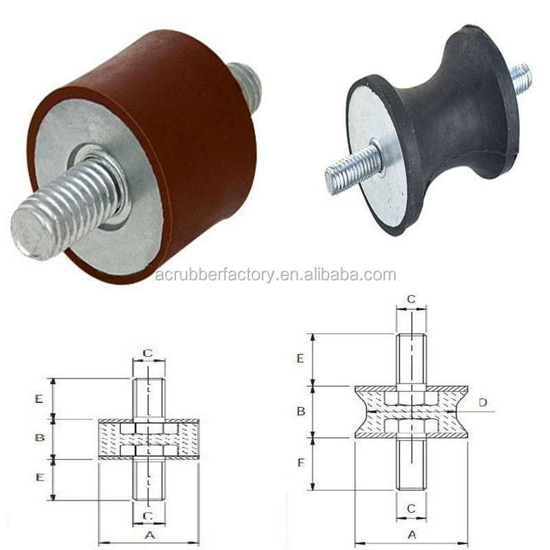 anti vibration mount <strong>rubber</strong> M8, M10, M6 male male female female male femal