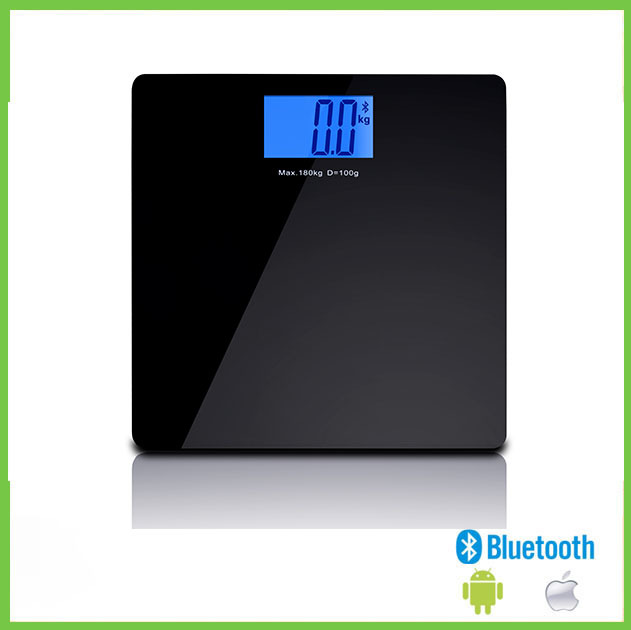 0.1kg division promotion bathroom scale electronic weighing platform balance with 180kg capacity