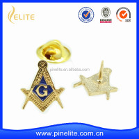 custom masonic metal lapel pin for freeman group