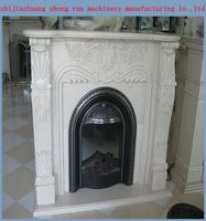 wood cast iron fireplace/electrical fireplace made in china