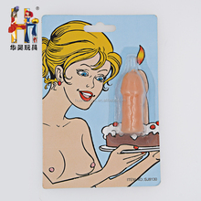 New style sexy toy promotional penis candle toy for adult party