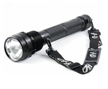 Rechargable HID Torch Lamps Aluminum Alloy Police 50w flashlight