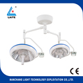 Double head ceiling hopital dental plastic surgery operating light