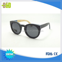 Best price bamboo glasses high quality wooden custom recycled skateboard wood sunglasses