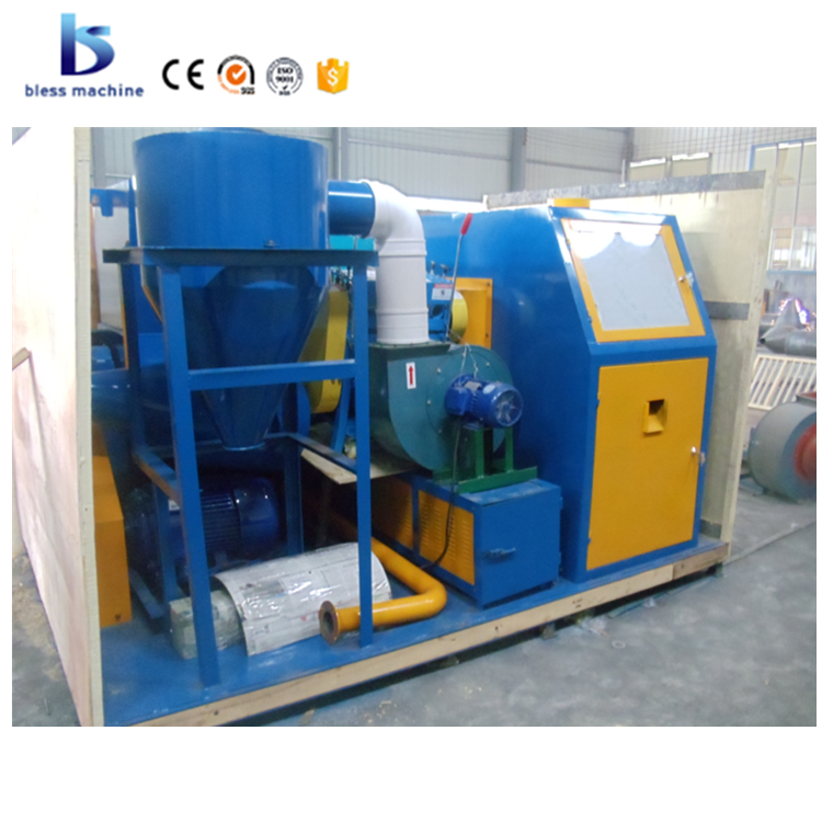 2018 new technical cost effective scrap cable wire recycling equipment with small investment