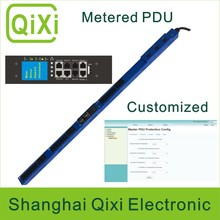 Network controlled management ethernet intelligent PDU