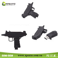Hot and Cheap gun gift usb great for Promotional present like virile USB