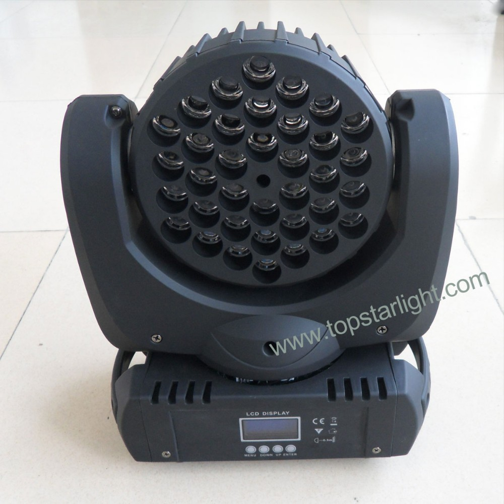 New china products for sale 36x3w zoom wash moving head