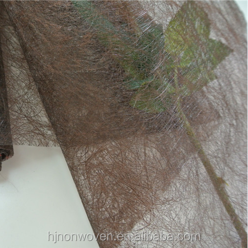wedding decoration sisal flor nonwoven fabric