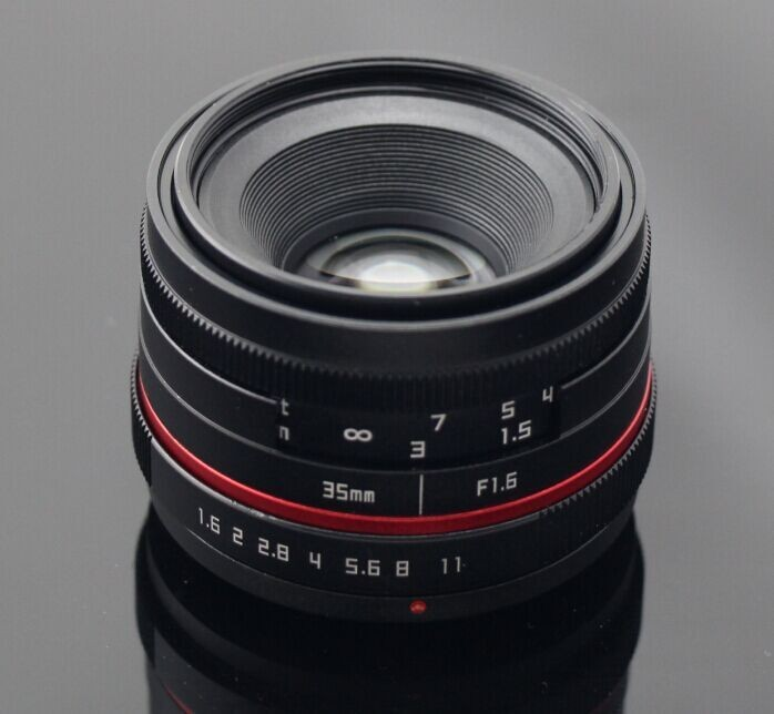 APS-C 50mm F1.8 Manual iris Lens from Focusafe