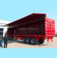 sinotruck howo side dump semi trailer for kenya with low price