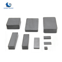 Wholesale Block Shaped Segment Ferrite Magnet