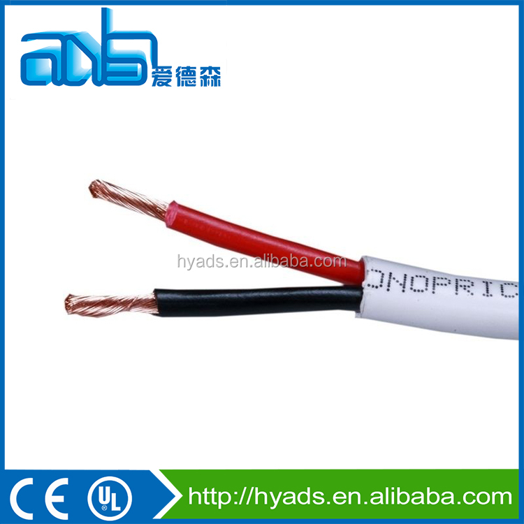 16AWG 2 conductor Loud Speaker cable for in wall installation