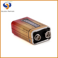 High working performance 9v 6f22 dry cell battery msds