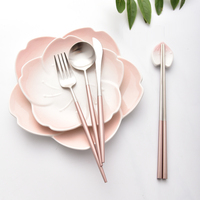 top sale for amazon wedding gold plated cutlery