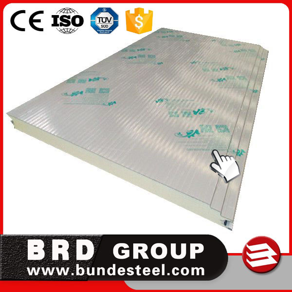 Fast installation 75mm hard foam insulation wall panels