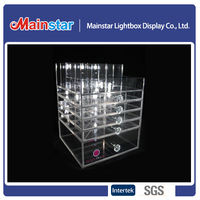 Hot selling acrylic makeup organizer
