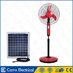 Double use 12 volt solar stand fan stand fans with price