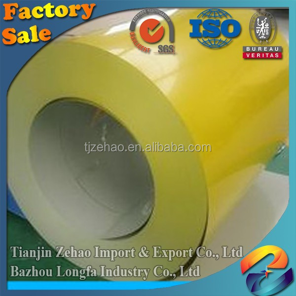 Factory export Lowest price wholesale china stock prepainted galvanized steel coil/Size 0.15-2mm*1000-1250mm PPGI