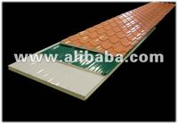 polyurethane panels, sandwich panels, pre-insulated roof and wall panels
