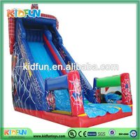 Top level new products inflatable dragon decoration slide