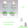 plastic 10ml dropper bottles with child-proof caps