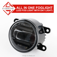 For RENAULT LAGUNA Ally express cheap wholesale ring car accessories LED drl fog lights