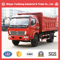 6 Wheel Dump Truck Loading Volume Capacity/10 Ton Sand Tipper Truck For Sale