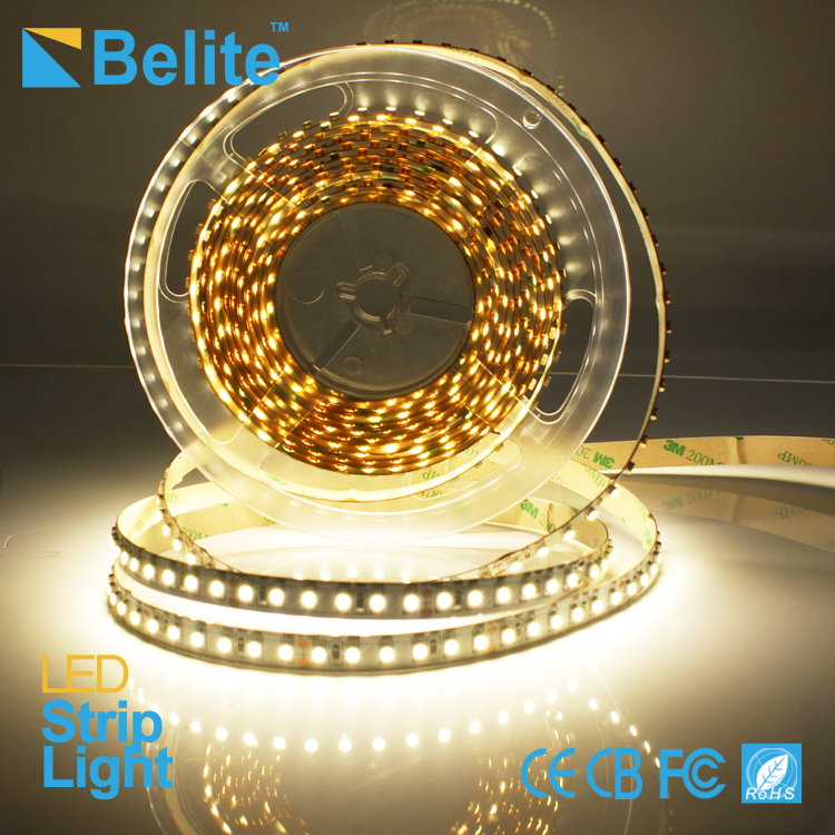 3528 led strip light 240 leds per meter warm white 2600K dc24v high bright led light strip