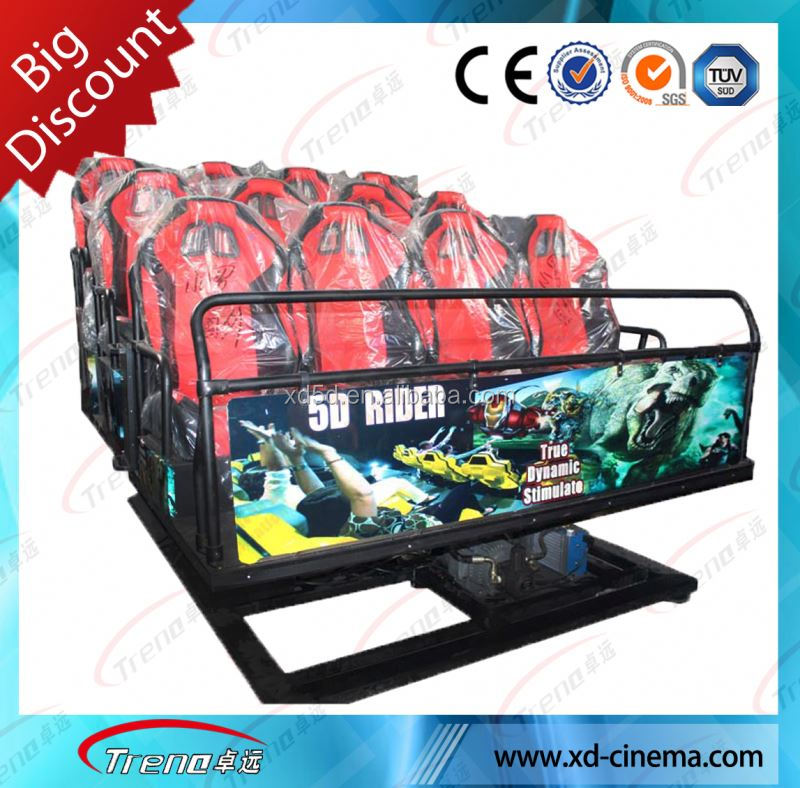 Guangzhou Zhuoyuan hot investment new 9d cinema project